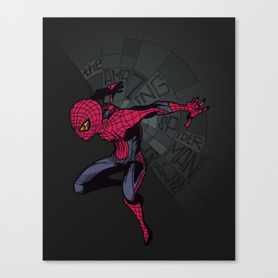 The Amazing Spider-Man: Mid-nite Canvas Print