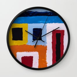 Reality tunnels Wall Clock