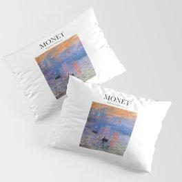 Monet - Impression, Soleil Levant Pillow Sham