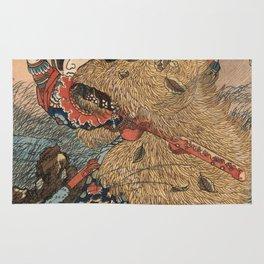 Utagawa Kunisada - Kinhyoshi Yorin Rug