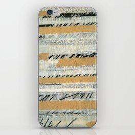 mosmith word collage iPhone Skin