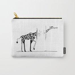 La giraffe Carry-All Pouch