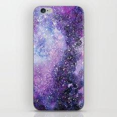 Space. Watercolor iPhone Skin
