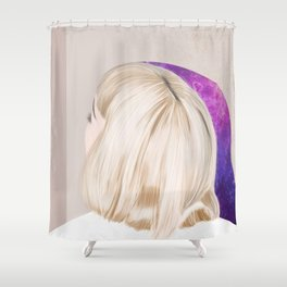 Head in the Stars Shower Curtain
