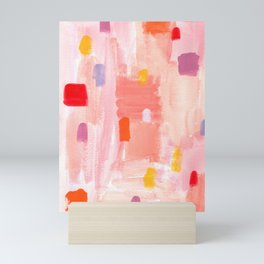 Put Sorrows In A Jar - abstract modern art minimal painting nursery Mini Art Print