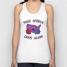 Make America Grape Again! Unisex Tank Top