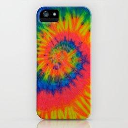 Tie Dye 016 iPhone Case