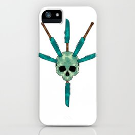 Underwater Horror iPhone Case