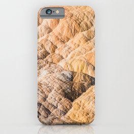 Hot Springs Ombre - Abstract Nature Photography iPhone Case