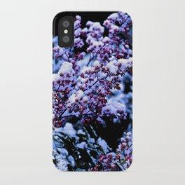 White Winter iPhone Case