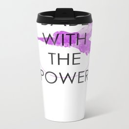 The Babe With The Power (Labyrinth) Metal Travel Mug