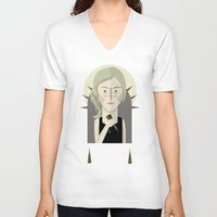 buffy the vampire slayer V-neck T-shirts featuring Buffy The Vampire Slayer by Gary  Ralphs Illustrations
