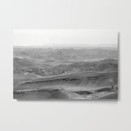 Arad Overlook of the Desert in Israel Metal Print