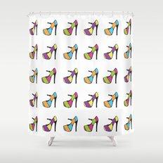 High Heel Parade Shower Curtain