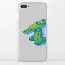 Tank T Clear iPhone Case