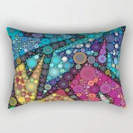 Disco Bubbles Rectangular Pillow