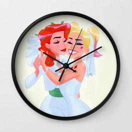 Harley and Ivy Wall Clock