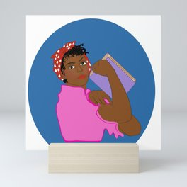 Educated Women are Saving the Planet Mini Art Print
