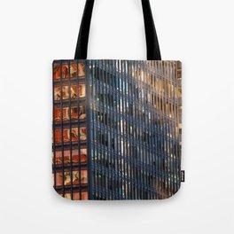 Manhattan Windows - Fire Tote Bag