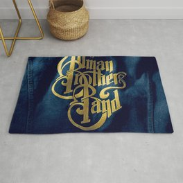 A Decade of Hits 1969 - 1979 by The Allman Brothers Band - Vectorized Rug