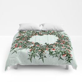 Ring of Holly Comforters