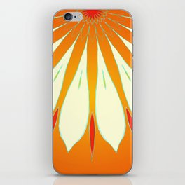 Flower upclose iPhone Skin