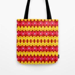 Iron Man Pattern Tote Bag