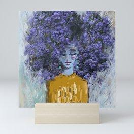 California Lilac Mini Art Print