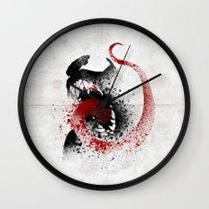 The Symbiote Wall Clock