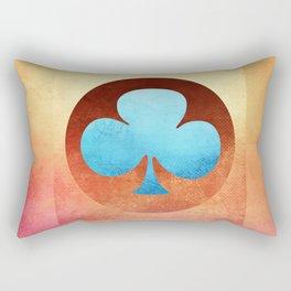 Ace of Trefoil III Rectangular Pillow