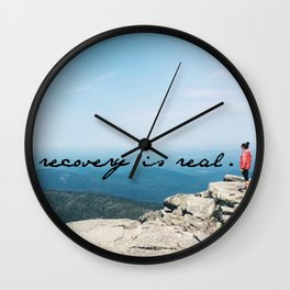 recovery is real Wall Clock