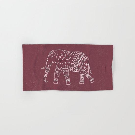 Yoga Elephant 2 Hand & Bath Towel