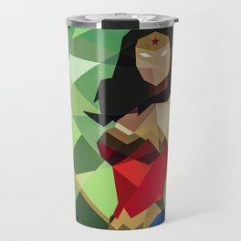 GEOMETRIC SUPERHERO Travel Mug