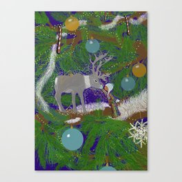Christmas Connection Canvas Print