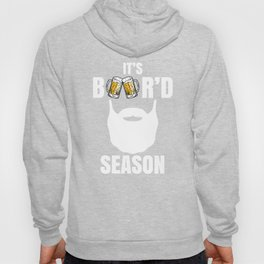 Funny Beard Season Beer Drinking Drinker Bearded Fathers, Coolest Beards Are Better, No  Shave Hoody