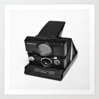 polaroid Art Prints featuring Polaroid by Aaron Morris