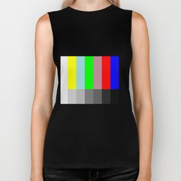 Color vs Grayscale TV Testing Biker Tank