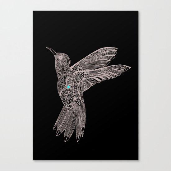 Love bird Canvas Print