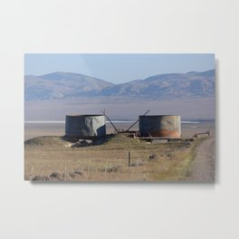 watertowers Metal Print