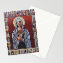 Holy Family #1 By Nabil Anani Stationery Cards