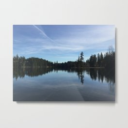 Lake Wilderness 2 Metal Print