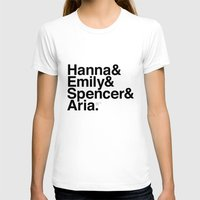 pretty little liars T-shirts featuring Pretty Little Liars by MLauxDesign