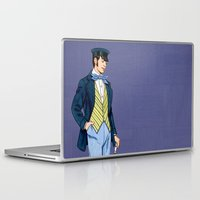 hipster Laptop & iPad Skins featuring Hipster by Tom Tierney Studios