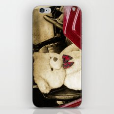 TEDDY GOES FOR A DRIVE iPhone Skin