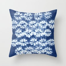 Shibori two Throw Pillow