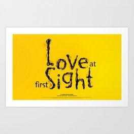 'Love At First Sight' Art Print