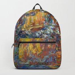 "Claude Monet ""The Japanese Footbridge"" Backpack"