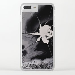 OVERCOMING THE DARKNESS Clear iPhone Case