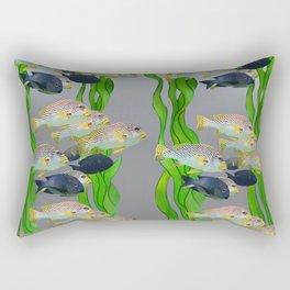 Aquarium 3 Rectangular Pillow