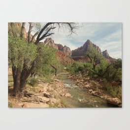 Zion Watchman Canvas Print